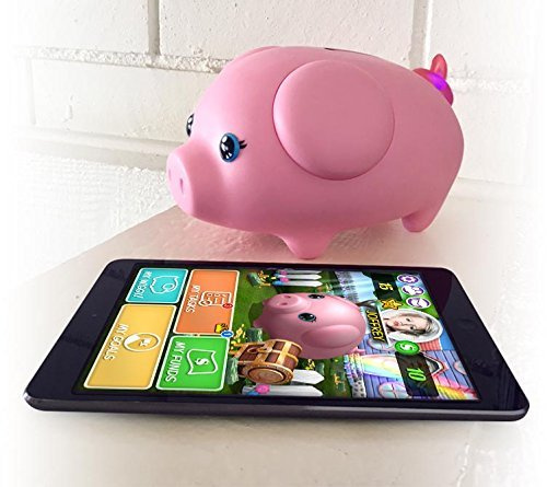 Wiggy Piggy Bank Ninja Smart Speaking Piggy Bank and Task Tracker
