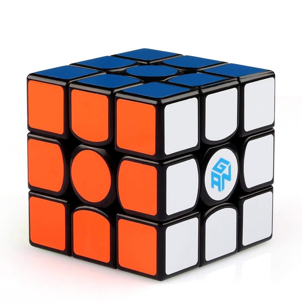 Coogam Gan 356 Air Master Speed Cube 3x3 Black Gans 356 Air Puzzle Cube with ...