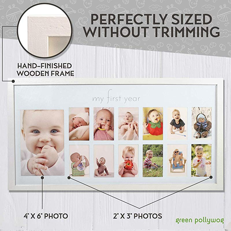 Oaktree Gifts Baby Countdown Scan Photo Frame for Mummy /& Daddy 4 x 3