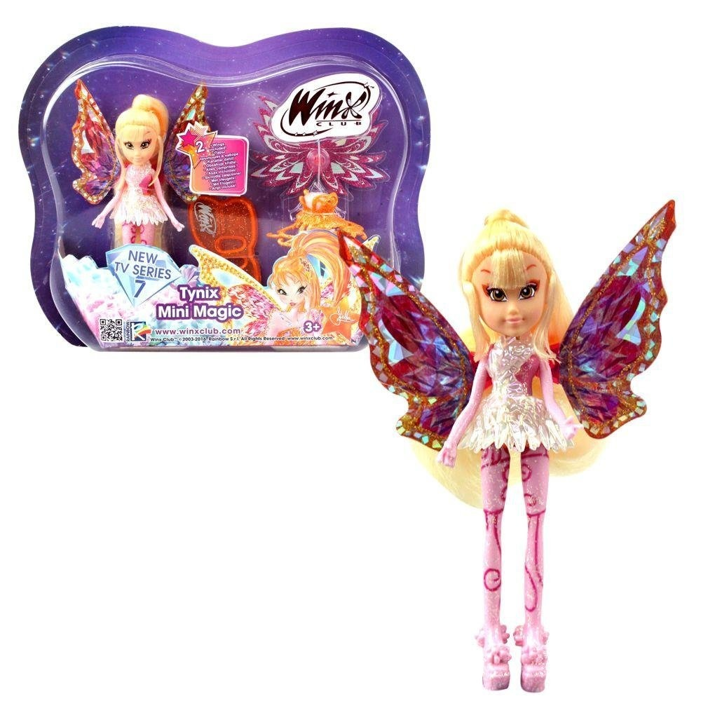 Winx Club Bloom 28cm with Magic Robe by Witty Toys Tynix Fairy Doll