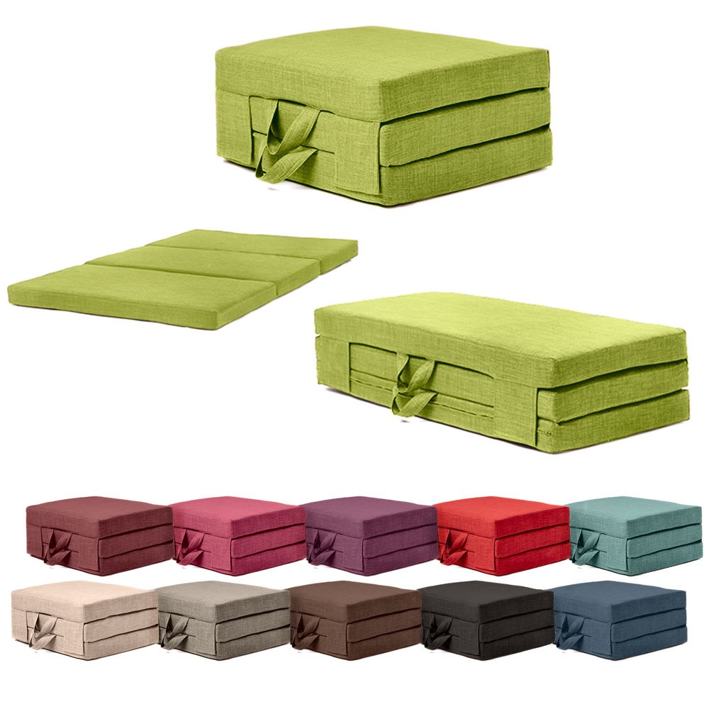 - Fold Out Guest Mattress Foam Bed Single & Double Sizes Futon Z Bed