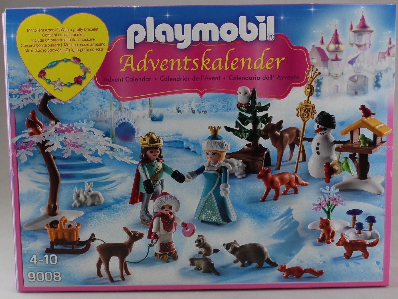PLAYMOBIL Advent Calendar Royal Ice Skating Trip