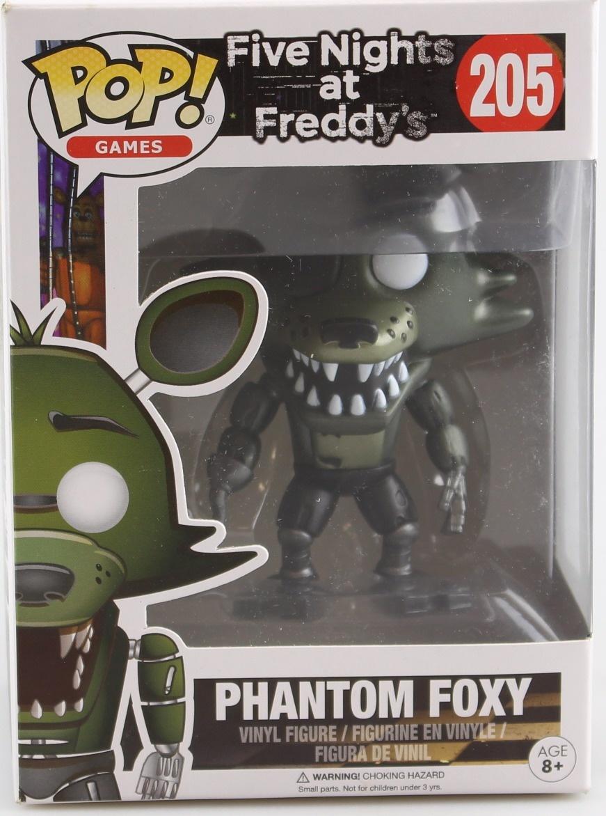 Funko Pop Five Nights At Freddy/'s Phantom Foxy Exclusive no 205