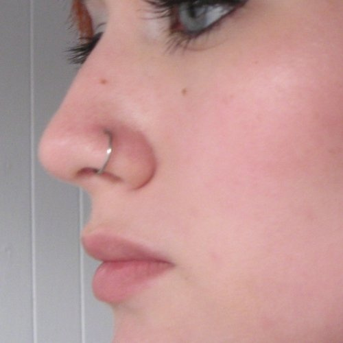20G 316L Surgical Steel Annealed Seamless Nose Ring Helix Cartilage Rings Continuous Split Hoop