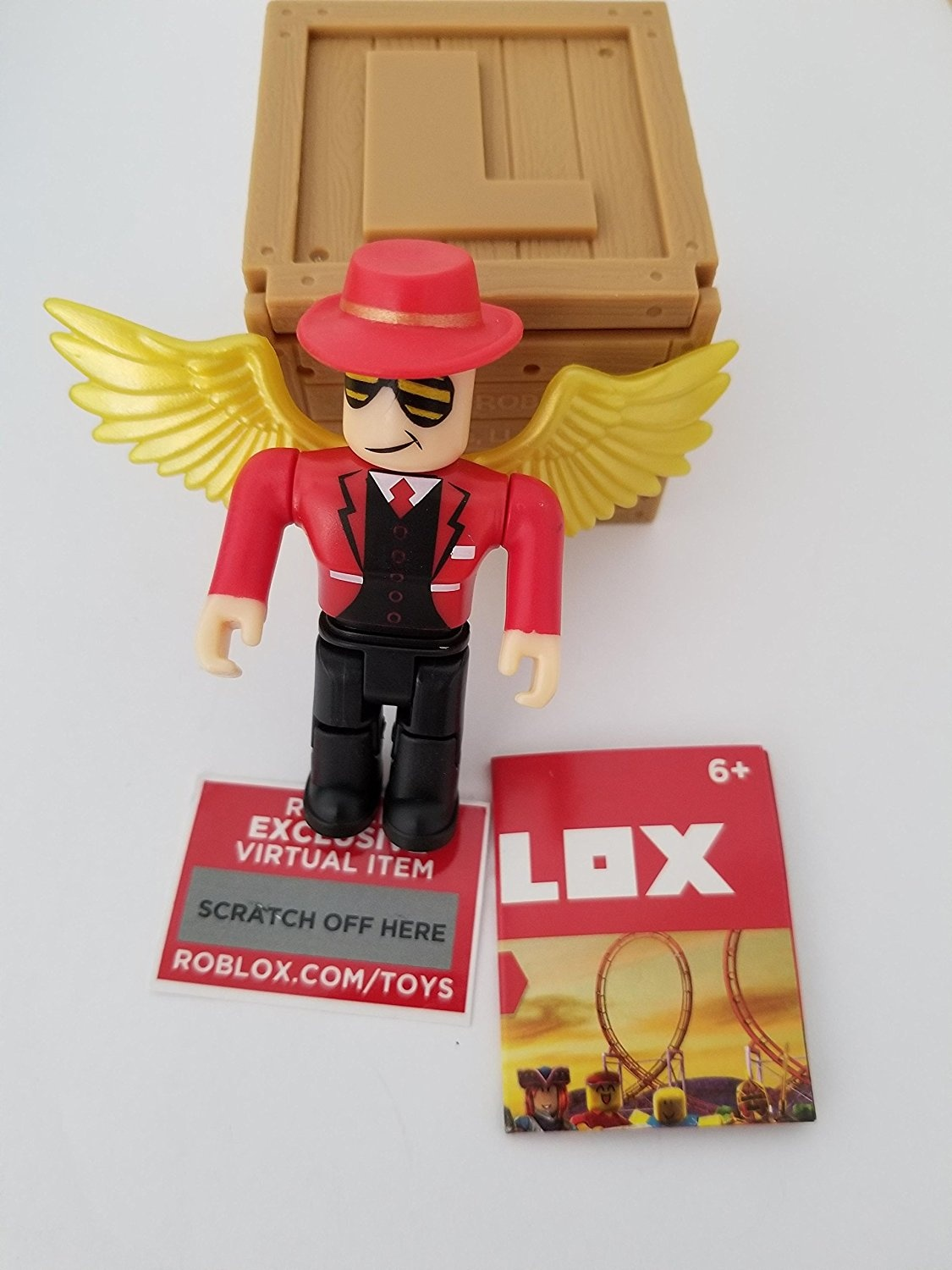 Roblox All Toy Code Items Roblox Series 2 Cindering Action Figure Mystery Box Virtual Item Code 6 4cm By Roblox Shop Online For Toys In The United States