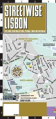 Michelin Lisbon City Map Laminated