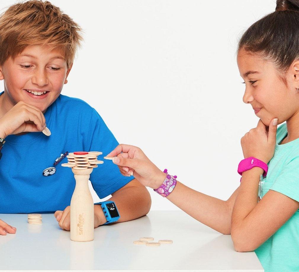 Smiggle Stack Em Up Wooden Building Game