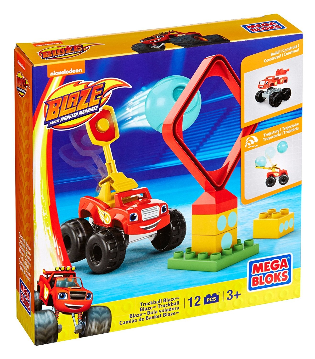 Mega Bloks Nickelodeon Blaze And The Monster Machines Truckball