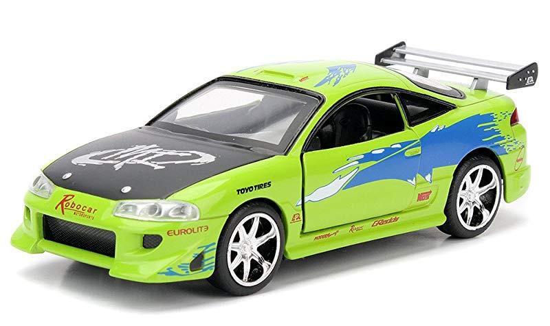 1995 Mitsubishi Eclipse Fast /& Furious 1:24 Jadatoys Modellauto