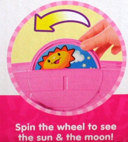 2009 w Sounds /& 3 Figures Fisher-Price Mattel 2450T2 ToysRUs Exclusive PINK Fisher Price Little People Happy Sounds Home