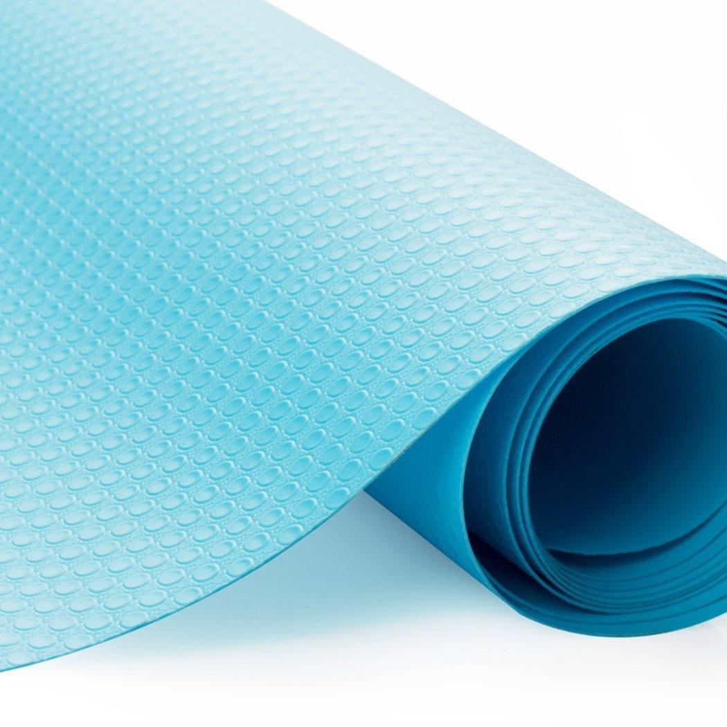 EVA Washable Waterproof Non-Adhesive Shelf Drawer Liner Roll for Refrigerator...