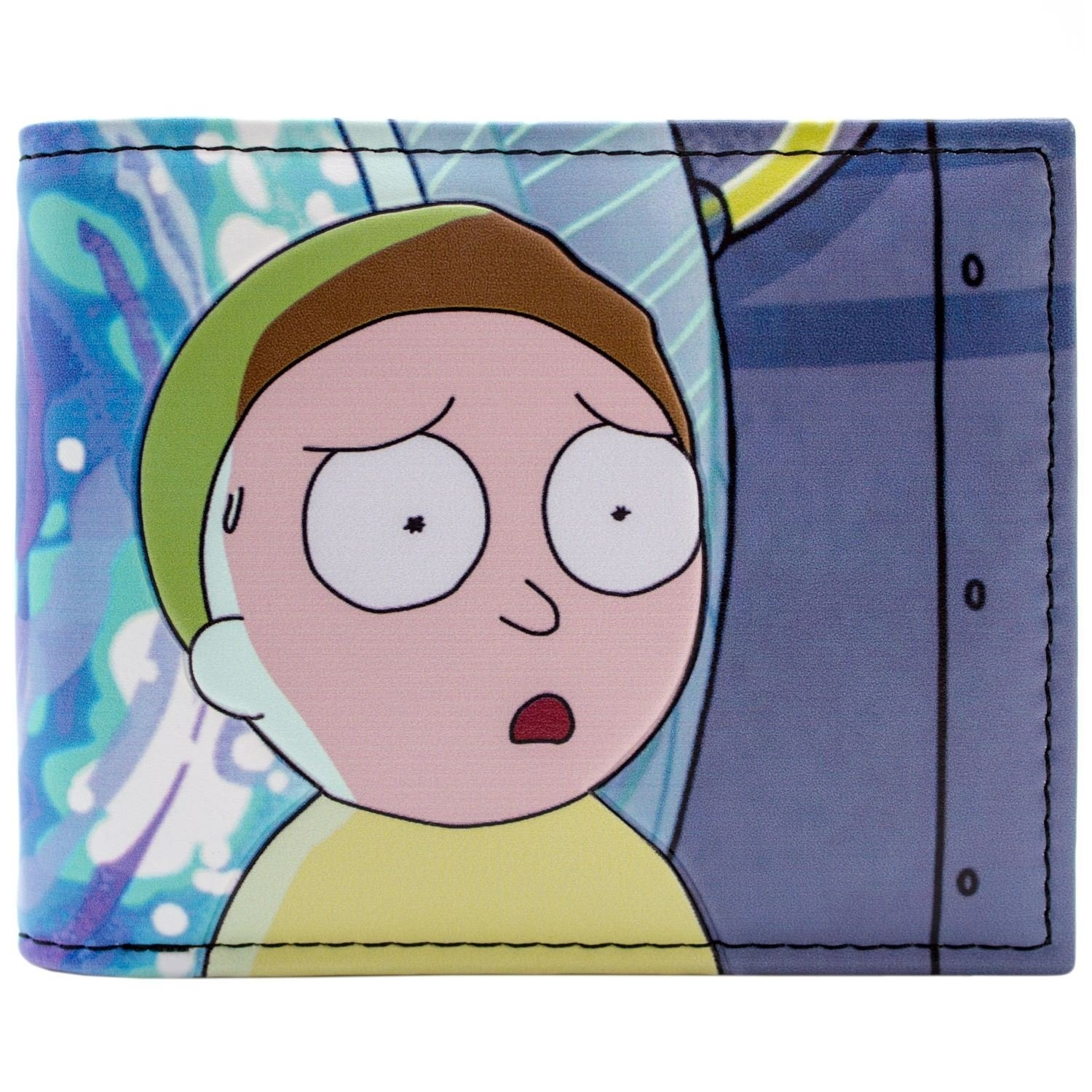 MEESEEKS Existence Is Pain Bi Fold Wallet With ID Slot Rick And Morty MR