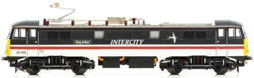hornby r3582 class 87 87010 king arthur br intercity swallow logo high speed pantograph by hornby shop online for toys in fiji hornby r3582 class 87 87010 king