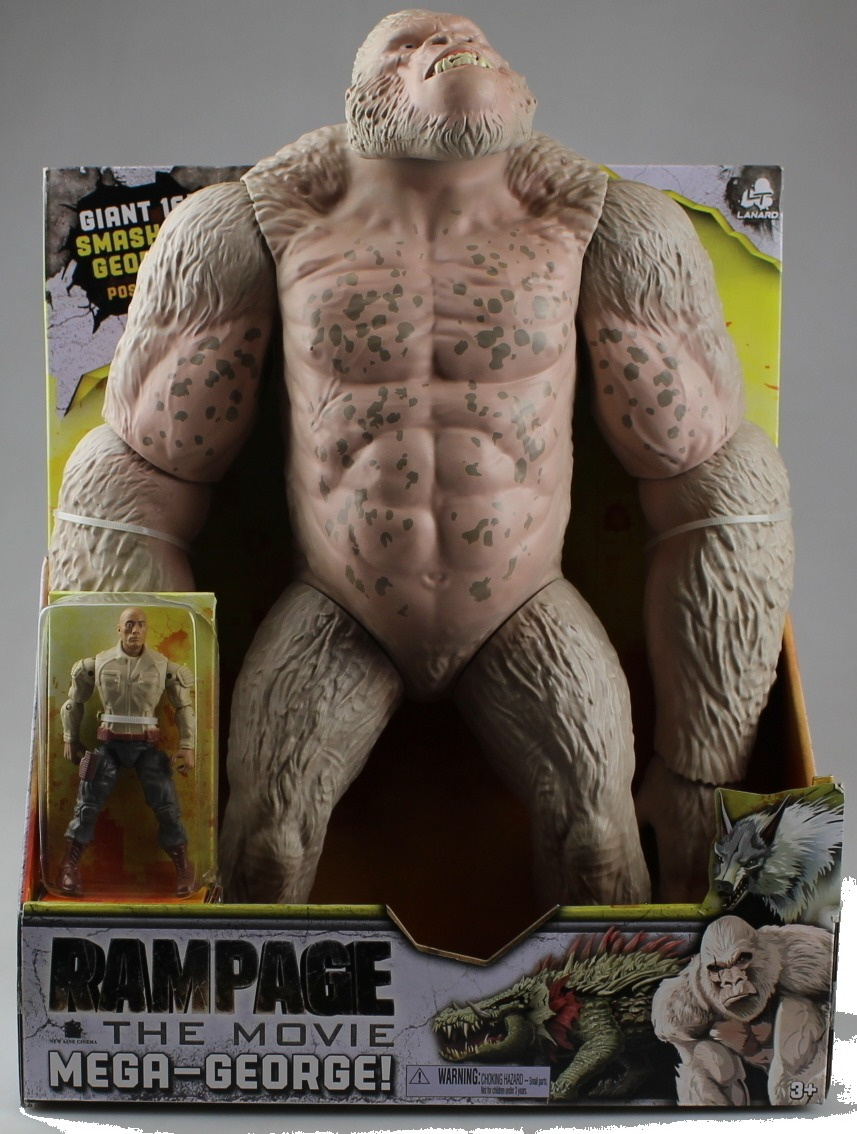 Rampage The Movie Mega George By Rampage The Movie Shop Online For Toys In The United States