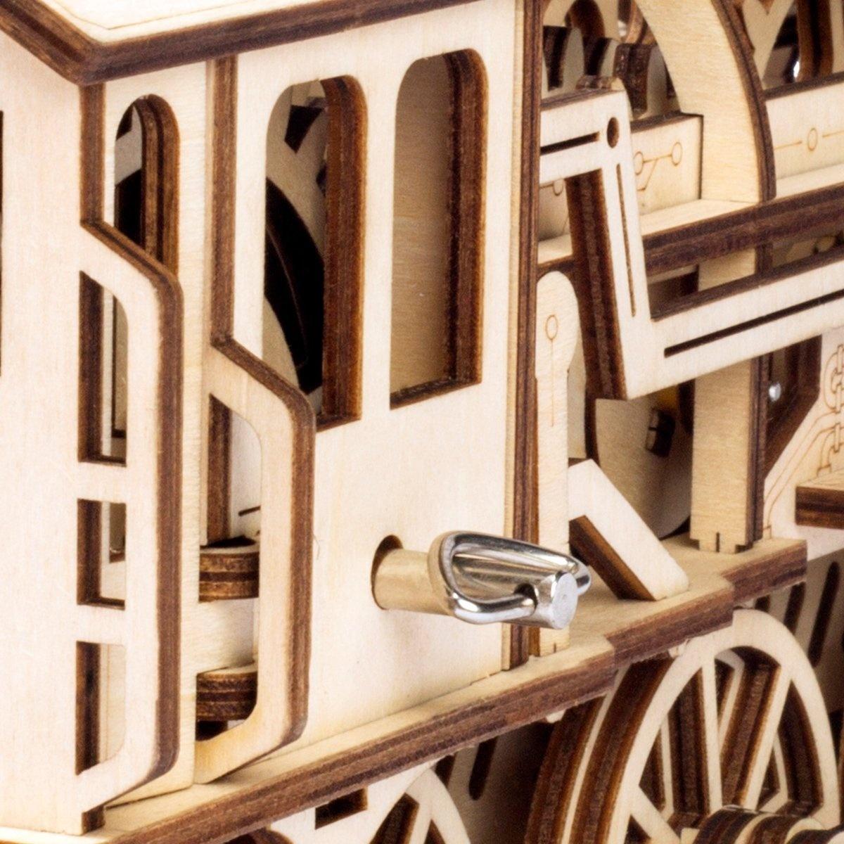 Construction Set Model KitMechanical... Robotime Laser Cut Wooden Puzzle