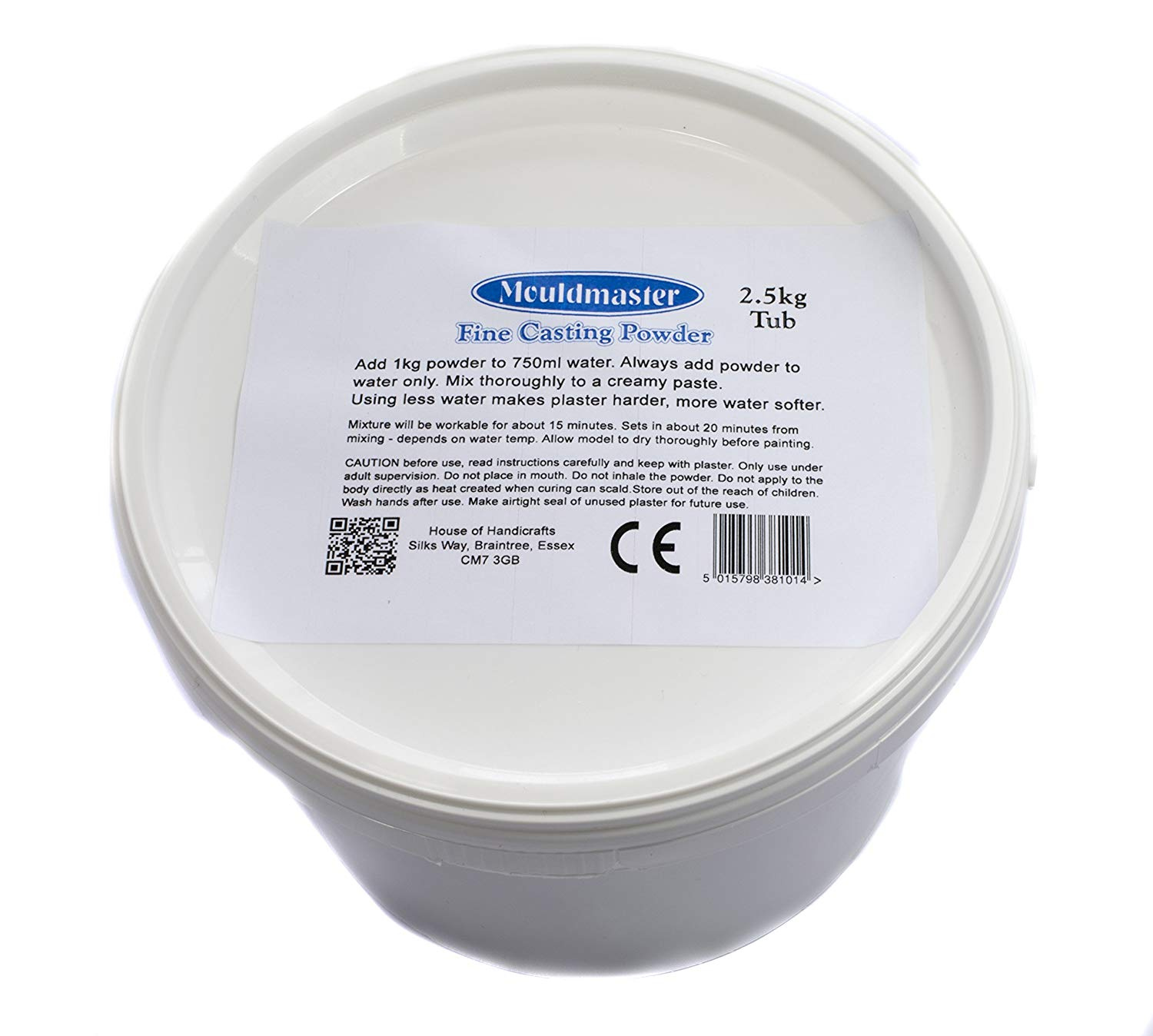 Plaster of Paris from MouldMaster
