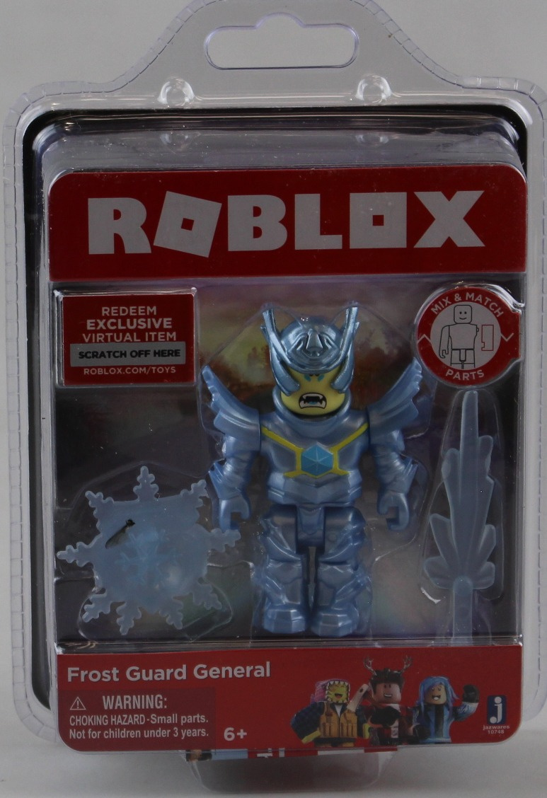 ROBLOX Frost Guard General Figure with Exclusive Virtual Item Game Code New