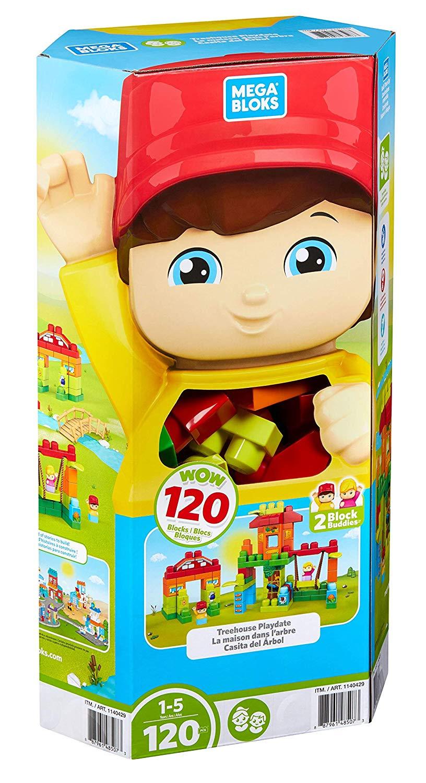Mattel FVJ48 Fisher Price Mega Bloks Bausteinwagen 25-teilig