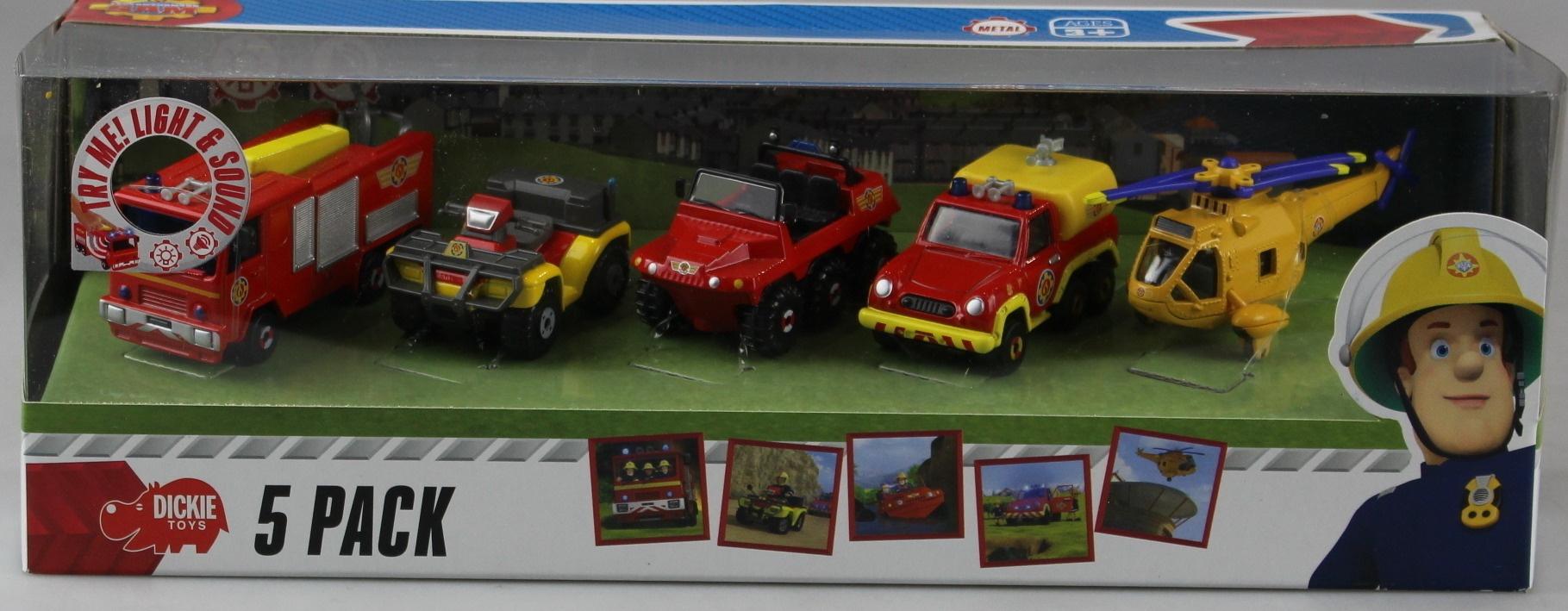 DICKIE TOYS 203094002 Fireman Sam Vehicles Set