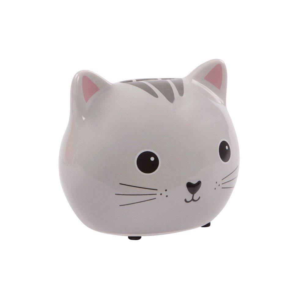 Xiangtat Stealing Money Bank Kawaii Coin Saving Piggy Money Bank White Cat Money Box