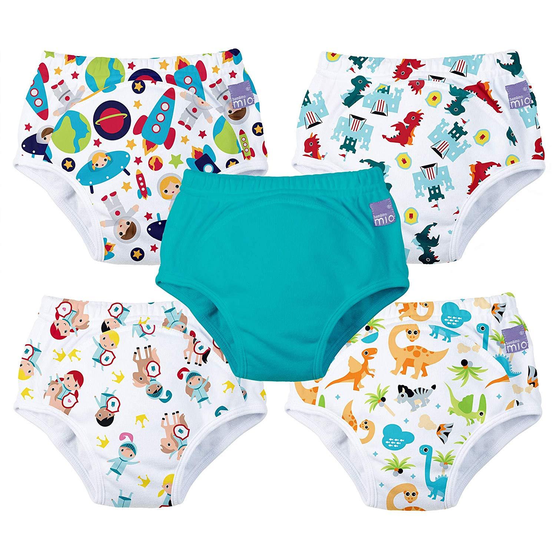 5 pack 2-3 years potty training pants mixed boy magical kingdom Bambino Mio