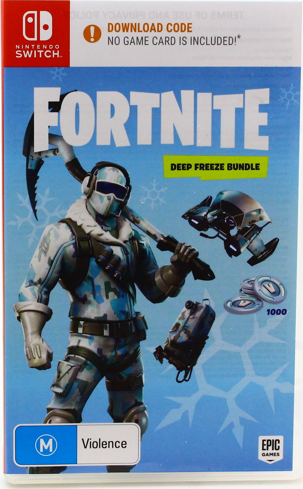 Nintendo Switch Fortnite Deep Freeze Bundle By Nintendo Switch Shop Online For Games In The United States