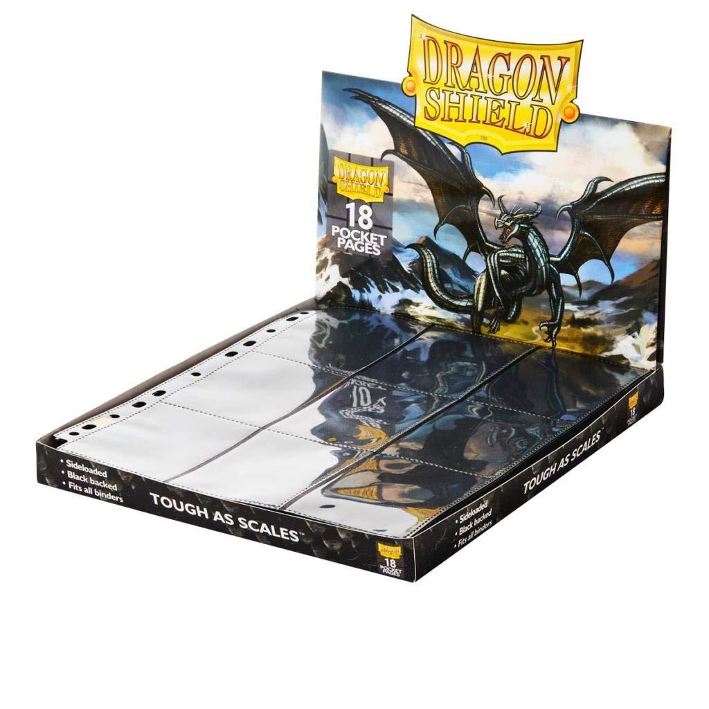 Dragon Shield 18 Pocket Tao Dong Black Portfolio Sideload Binder