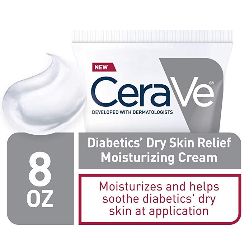 Cerave Moisturising Cream For Diabetics Dry Skin 240ml Urea