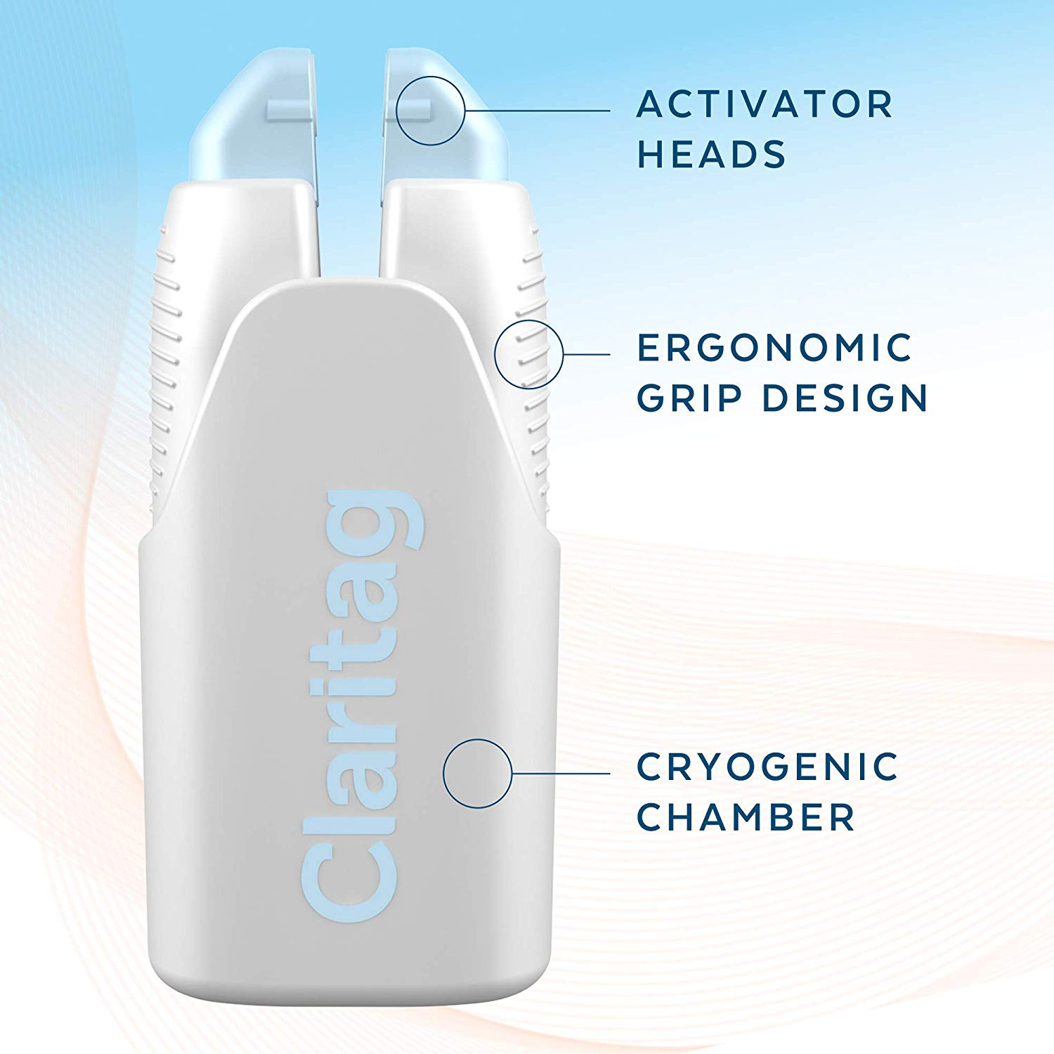 Calritag Squeeze And Freeze Skin Tag Removal Device Easy Painless And Effective At Home Skin Tag Remover Kit 10 Treatments Set Dermatologist Developed Patented Technology By Claritag