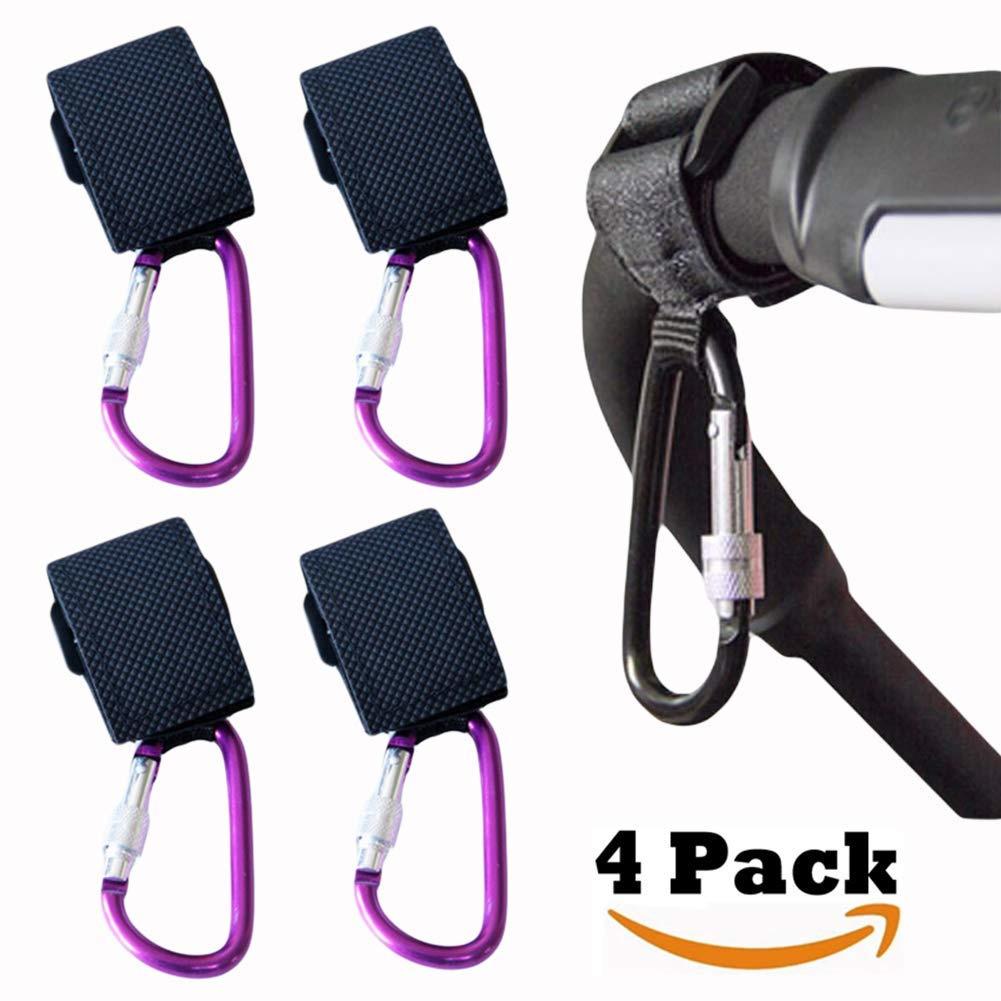 Buggy Clips Hooks Pram Clips Changing Bag Holder for Pushchair Stroller UK Stock