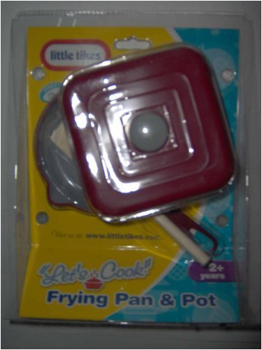 Little Tikes Let S Cook Frying Pan Pot By Shop Online For Toys In The United States