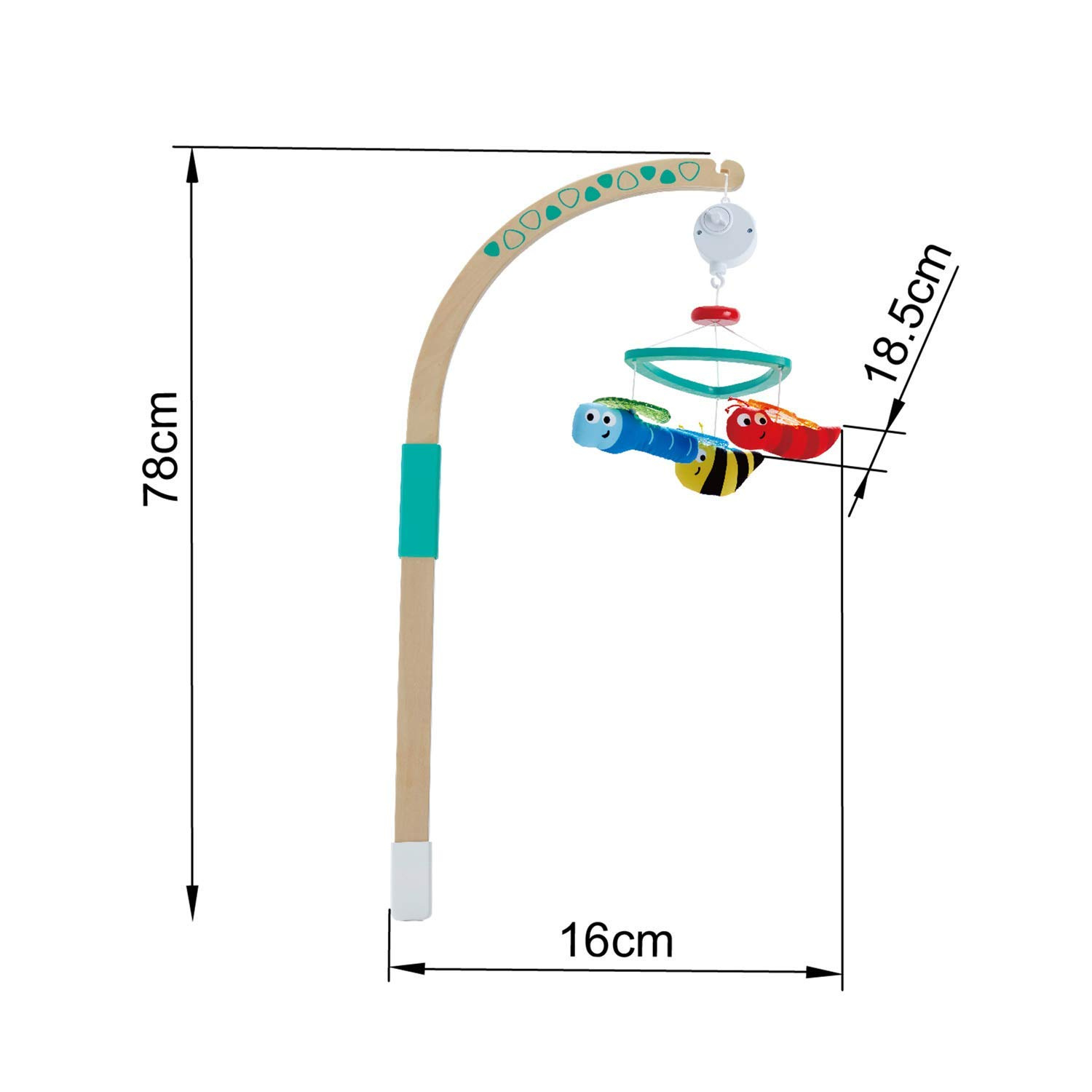 Dcor Baby Style-B Focalmotors Baby Wooden Mobile Hanger,Mobile ...