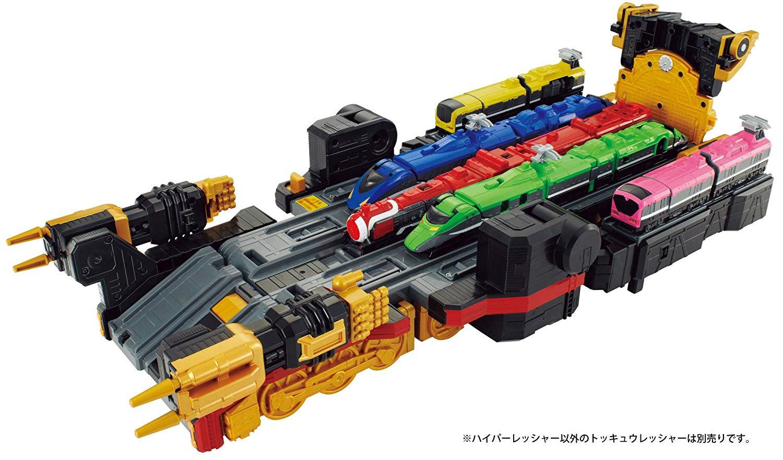 Bandai Ressha Sentai ToQger Train Union Series 12 Gattai DX Hyper Ressher Teioh