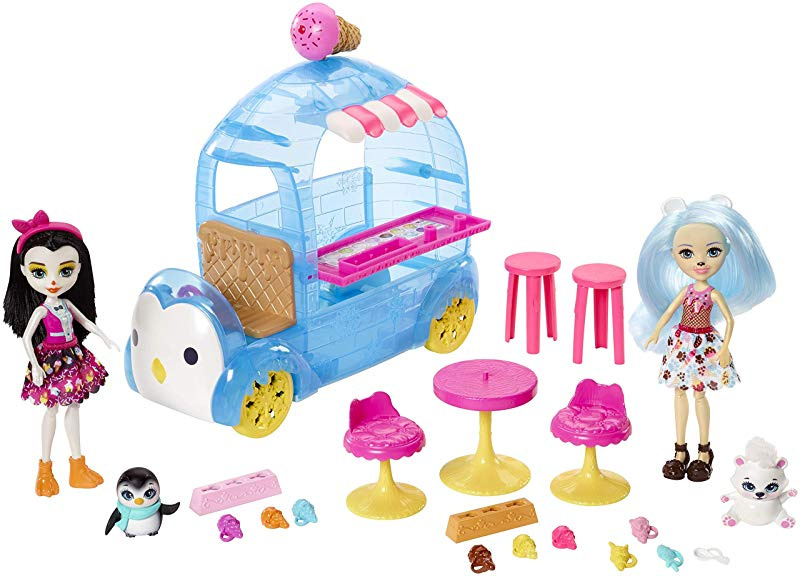 Enchantimals Preena Penguin Doll Playset