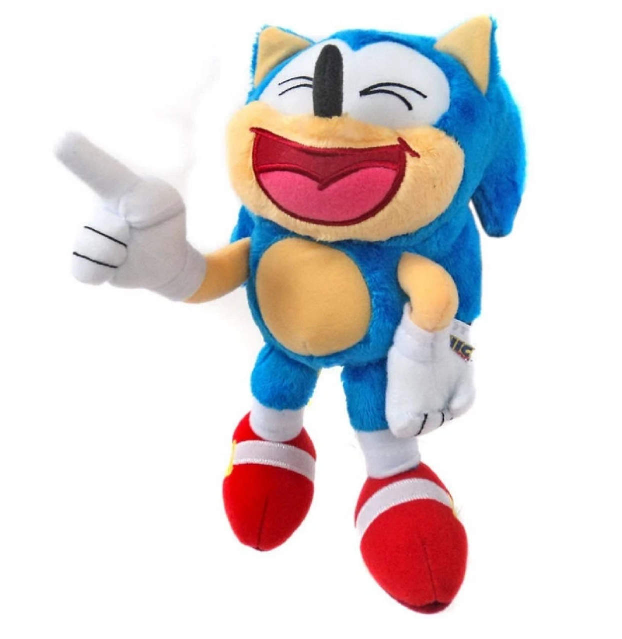 Plush Toy Sonic The Hedgehog Classic Sonic 20cm Laughing By Tomy Shop Online For Toys In The United States