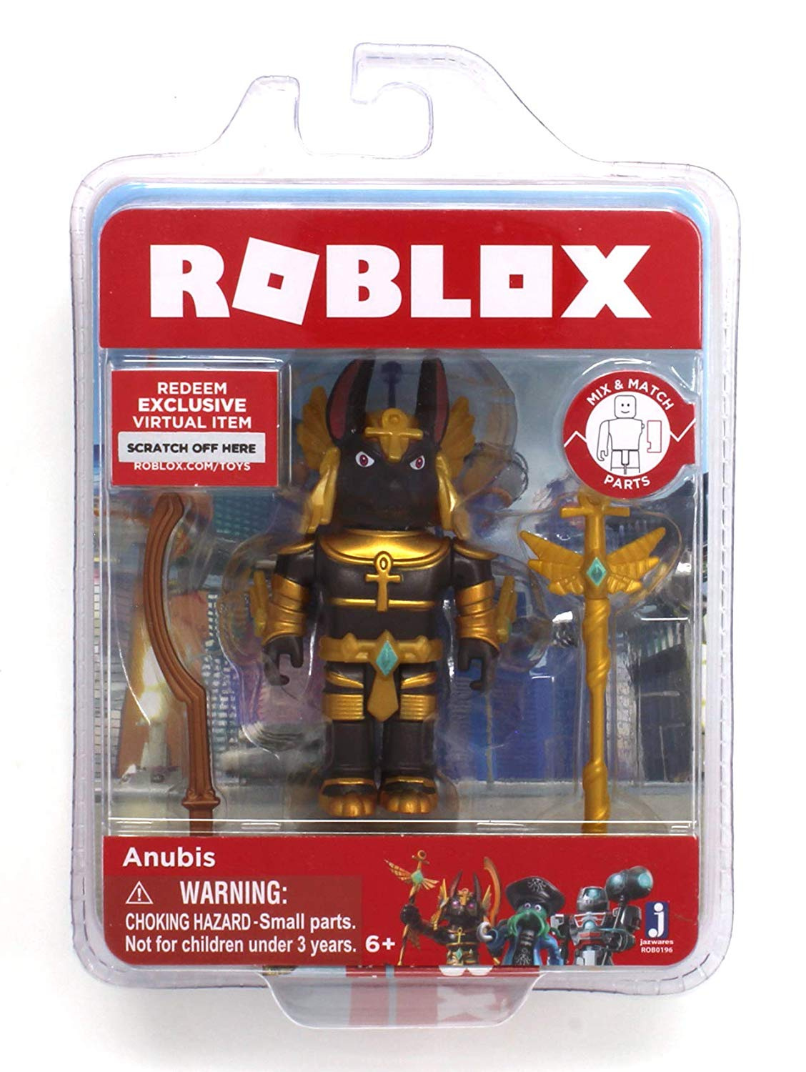Roblox Redeem Wwwtoyscom Roblox Anubis Single Figure Core Pack With Exclusive Virtual Item