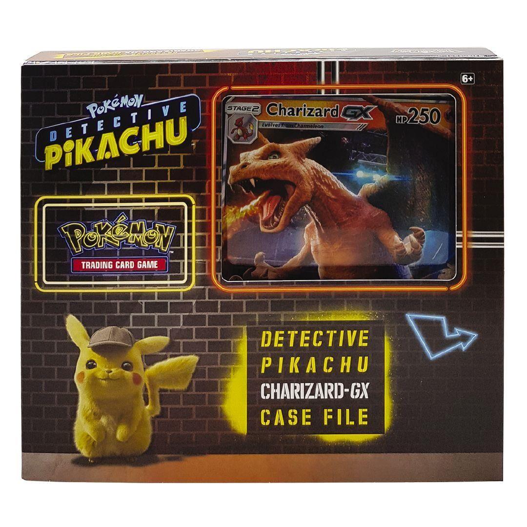Pokemon Trading Card Game Detective Pikachu Charizard Gx Box By
