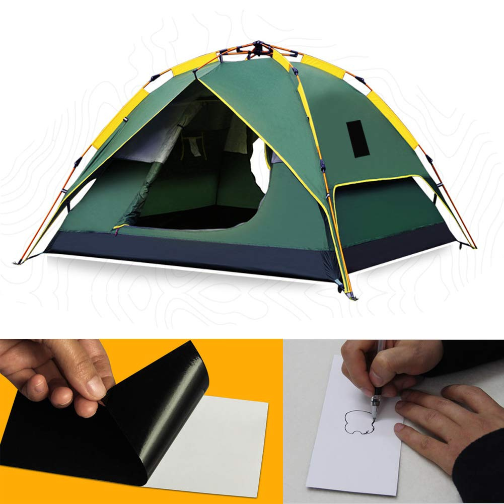 12 Color - Pack Perfect for Clothes Tent Premium Permanent Self Adhesive Tenacious Umbrella Fabric Repair Patches Easy for Use Washable and Waterproof Sleeping Bag Inflatable Pad