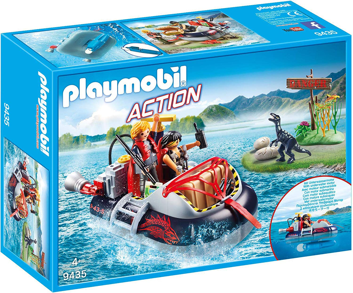 Playmobil 9233 Glass Bottom Boat with Submersible Motor
