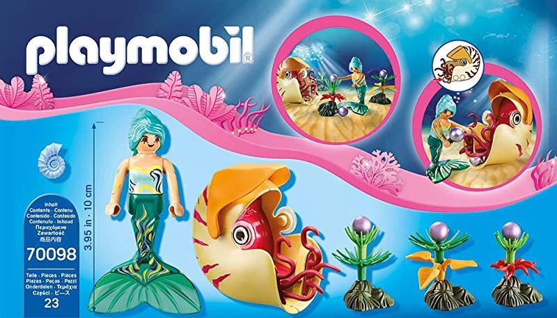 PLAYMOBIL Mermaid with Sea Snail Gondola