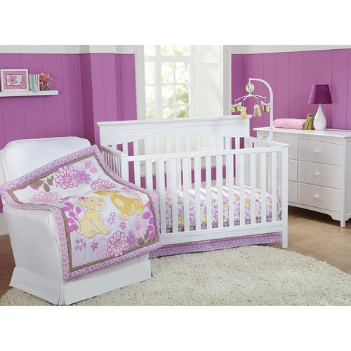 Disney Baby Bedding Lion King Nala 3, Baby Crib Bedding Set Lion King