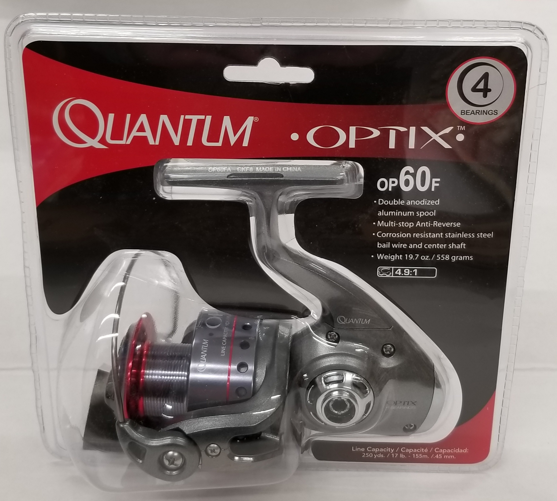 Maurice Sporting Gds Quantum Optix Op40d Spinning Reel By Quantum Shop Online For Sports Outdoors In The United States
