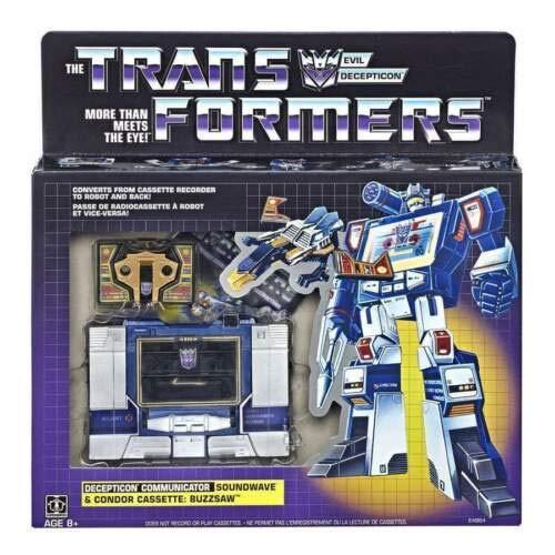 Transformers Vintage G1 Decepticon Soundwave mit Buzzsaw