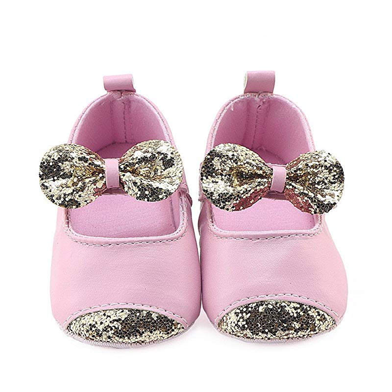 Cloudro Little Girl Non-Slip Princess Shoes Summer Cute Cat Bow Shoes for 4-7 Years