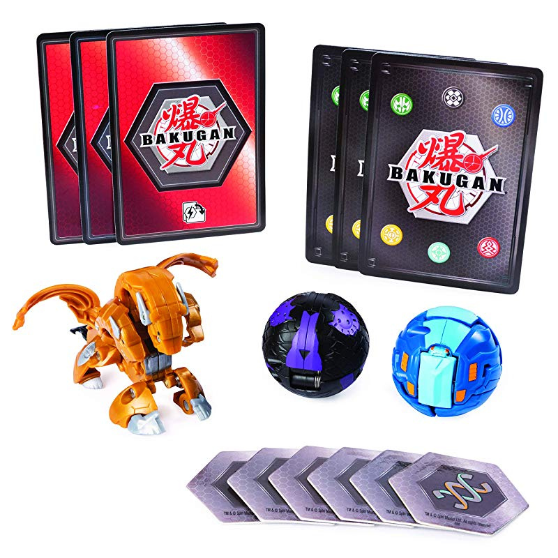 Styles May Vary-One Supplied , BAKUGAN 6045144 Starter Pack Set Assortment