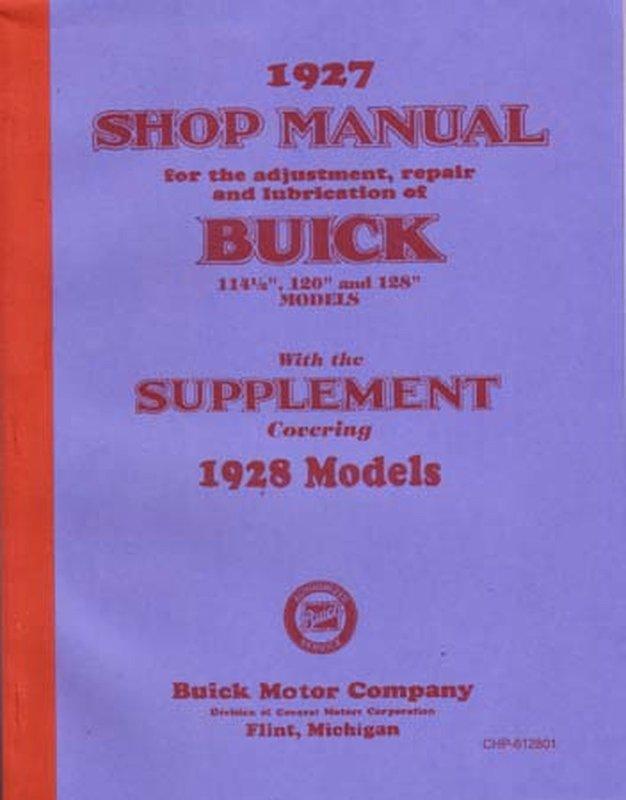 Bishko OEM Maintenance Owner/'s Manual Bound for Buick All Models 1939