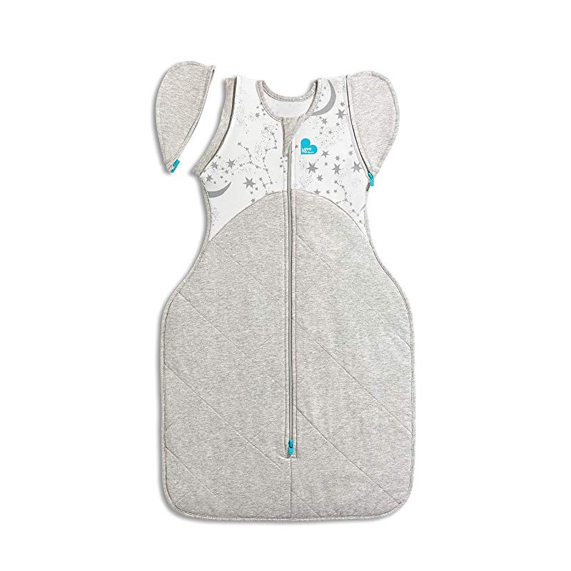 Medium 6kg-8.5kg Grey 1.0 TOG Love To Dream Swaddle UP 50//50 Transition Bag