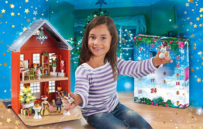 playmobil 70383 large advent calendar christmas in the town house new 2019 by playmobil shop online for toys in the united states playmobil 70383 large advent calendar christmas in the town house new 2019
