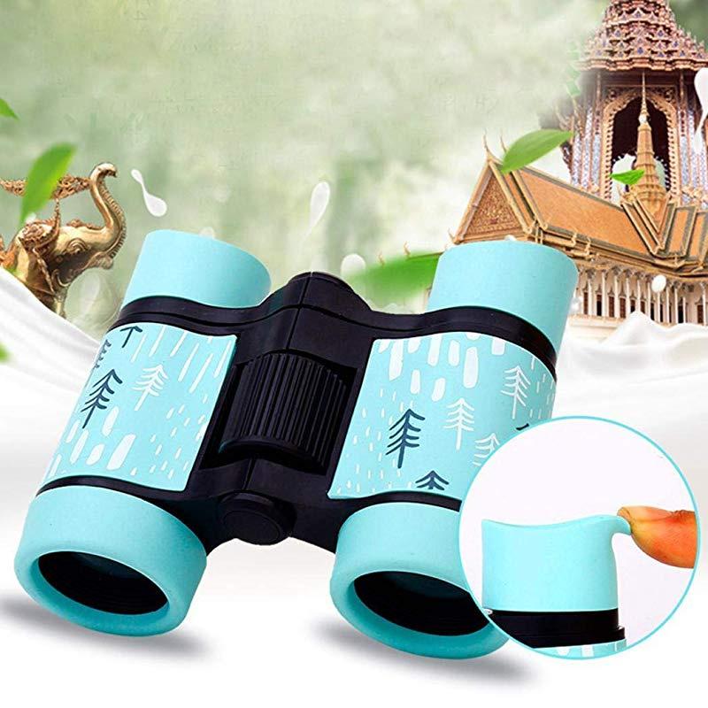 berill Binoculars for Kids High Resolution 4x30 Outdoor Games Hiking Compact High Power Kids Binoculars for Bird Watching Hunting Spy