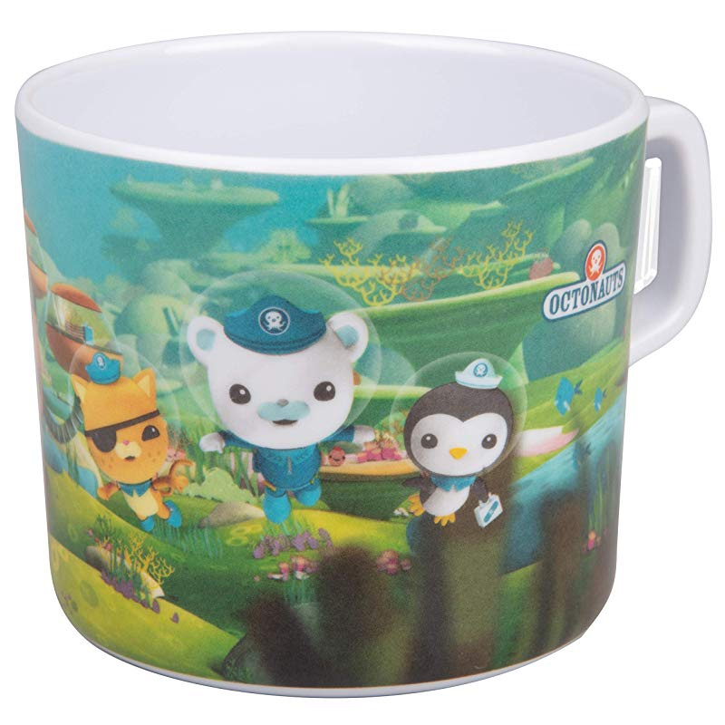 Bowl Cup Octonauts 5 Pc Mealtime Feeding Set for Kids and Toddlers Includes Plate Fork and Spoon Utensil Flatware Dishwasher Safe BPA Free Durable